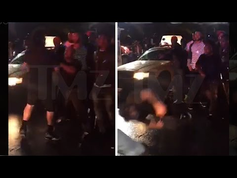 The Game Rival Rapper KNOCKED Out By Game's Manager **Full Video**