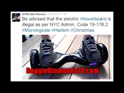 Hoverboards Are Now Illegal To Ride In NYC!