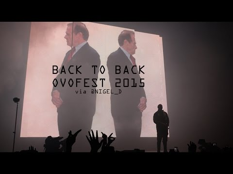 """Drake Performs """"Back To Back"""" At OVO Fest 2015 (Meek Mill Diss)"""