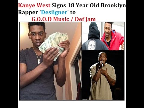 @KanyeWest Signs 18 Year old Rapper Named 'Desiigner' from Brooklyn and Features him on his Album.