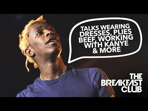 Young Thug Explains Why He Wears Dresses, Beef With Plies, Working With Kanye, Lil Wayne, & The Game