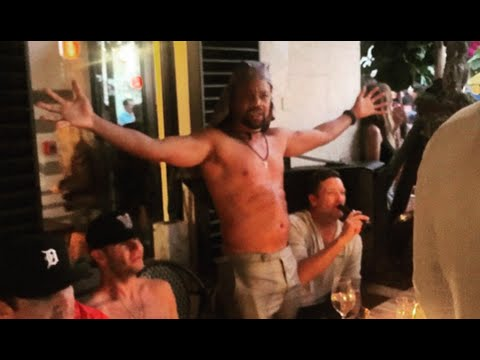 Cuba Gooding Jr Goes Crazy And Eats Cell Phone At Miami NightClub (SMH)
