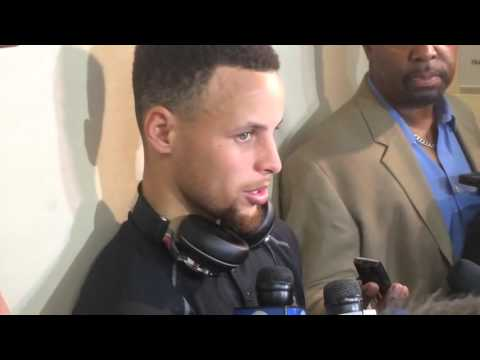 Steph Curry on Beating OKC Thunder in Overtime