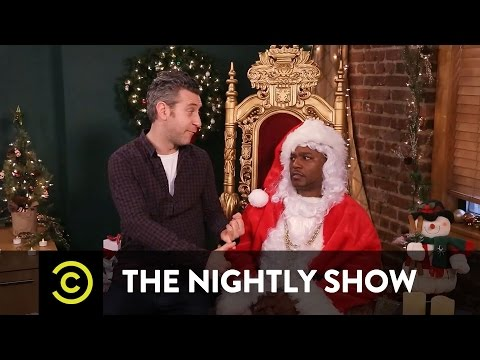 Cam'ron: The Nightly Show's Office Santa LOL