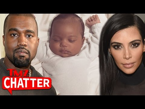 First Picture of Saint West (Video)