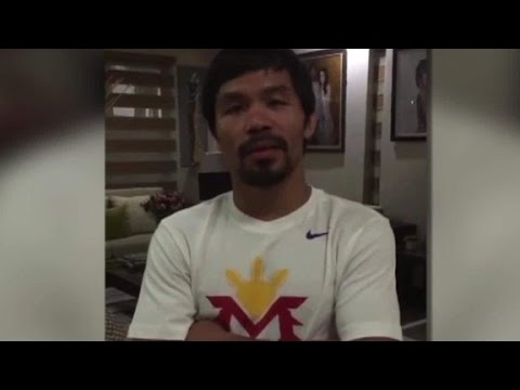 Nike Stops Doing Business With Pacquiao over anti-gay remarks