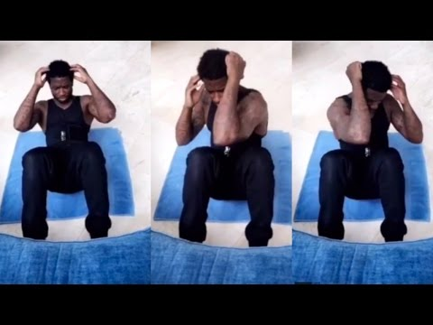 """Gucci Mane Shows OFF THAT PRISON WORKOUT ROUTINE  """"WIZOP FITNESS"""""""