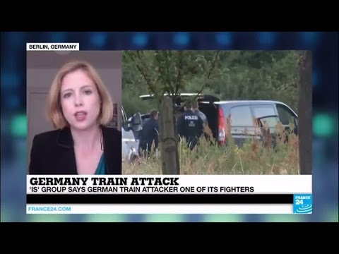 Germany train attack: local German authorities being extremely cautious