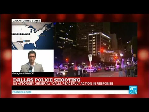 Dallas police shooting: suspect identified as 25-year-old army reserve Micah Johnson