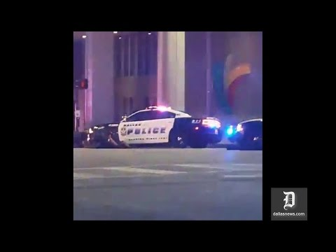 Dallas Cop Shooting Caught On Facebook Live