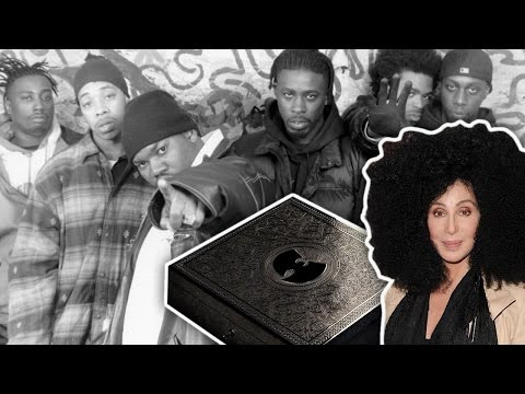 Wu-Tang Clan sold the only copy of the new album for millions!!!