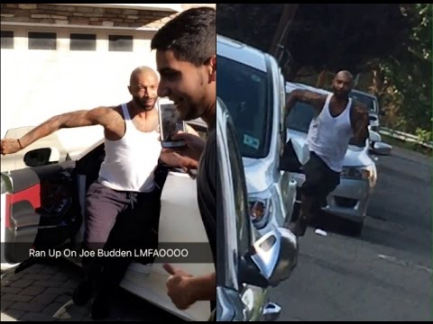 Drake Fans Tried Running Down on Joe Budden.....But Joe Budden Ended up CHASING Them.