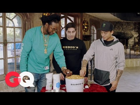 Most Expensivest Shit: 2 Chainz Eats Gold-Coated Billion Dollar Popcorn