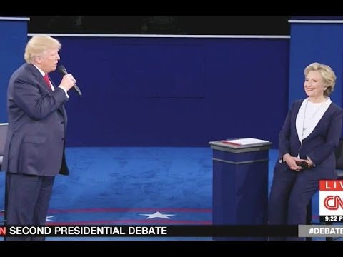 Wildin : 'You'd Be in Jail' Trump Tells Clinton He'd Appoint Special Prosecutor to Look Into Her