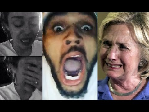 Celebrities React on DONALD TRUMP Win (ft. Miley Cyrus, Chris Brown, Snoop Dog, Rae Sremmurd & more)