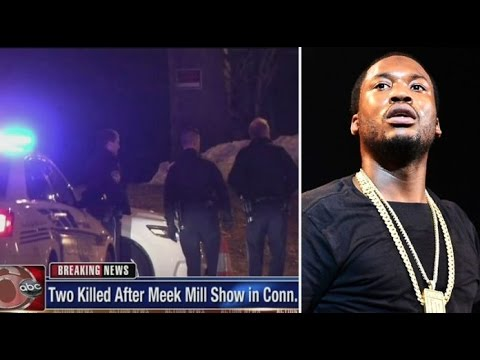 2 Dead and 2 Wounded outside of Meek Mill's Concert.