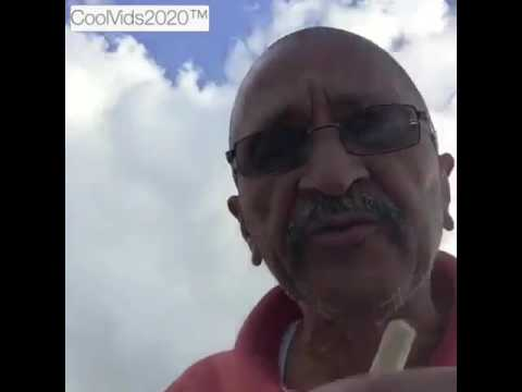Hilarious : Grandpa spits a freestyle about weed