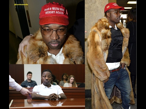 Troy Ave Shows Up to Court Wearing Bulletproof Vest and Fur Coat. Judge Allows him to Perform Again.