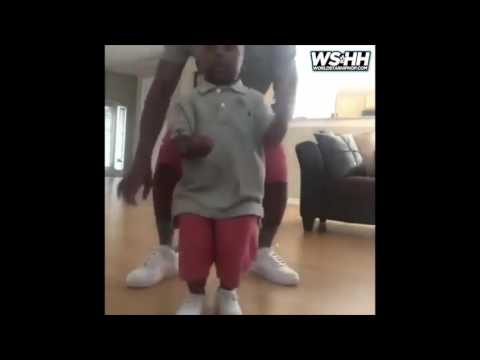 Is He Wrong ? Father Teaches 3 Year Old Son His A B Cs Using Trap Music!
