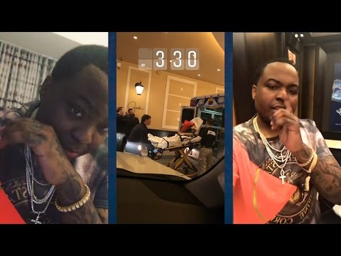 "Sean Kingston Exposes Migos and TMZ for Lying about Fight! ""Do it Look like I got JUMPED on WSHH""?"