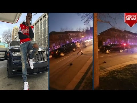 Young Dolph gets Ambushed & Shootout in North Carolina! 100 shots!