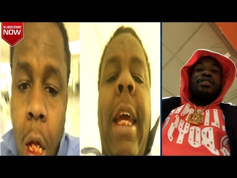 EXCLUSIVE: Meek Mill Fight in Airport: 7 of them JUMPED ME! The Fight Happen Over RESPECT!