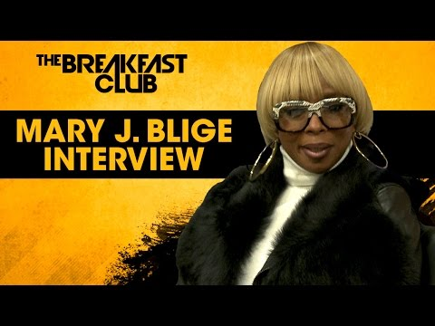 Interview : Mary J. Blige Opens Up About Her Divorce, Her New Album & More