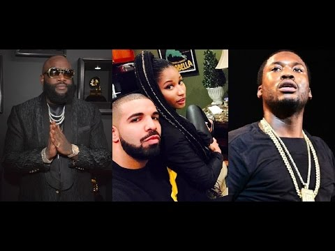 Rick Ross Raps on his New Album that He Warned Meek Mill Not to Trust Nicki Minaj!