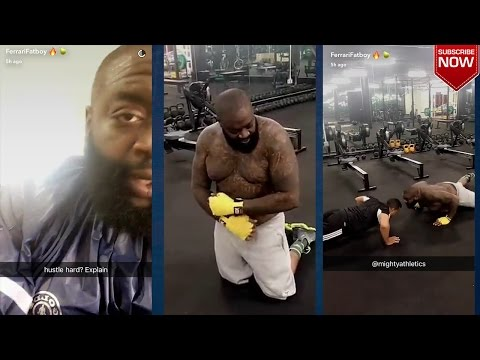 """Rick Ross: """"In The Gym Getting Ready for the Summer"""" Ripped Up Fat Boy!?"""