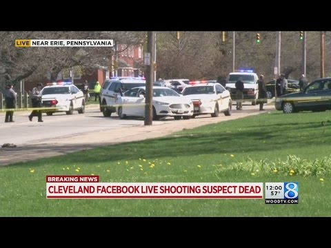 Suspect in Facebook video killing shoots himself to death