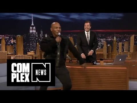 "Mike Tyson Sings ""Hotline Bling"" on Jimmy Fallon"