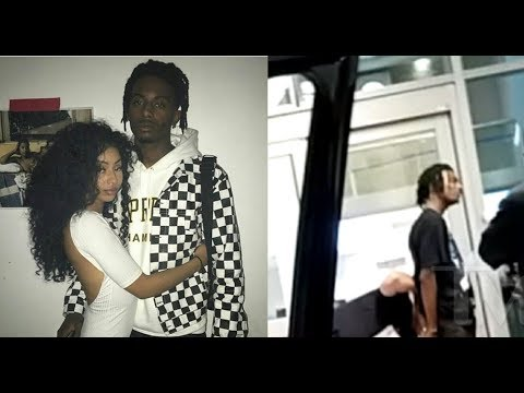 Playboi Carti aggressive with his girlfriend at airport. (Arrested)