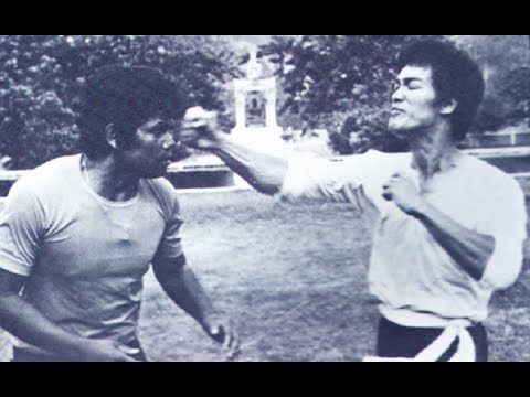 Rare : Bruce Lee's Only Real Fight Ever Recorded!