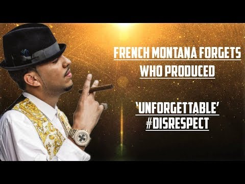 French Montana DOESNT KNOW Who Produced 'Unforgettable' and Sonny Digital is PISSED OFF