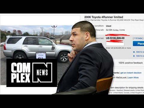 Look At This : Aaron Hernandez's 'Double Murder Car' Is Now Up for Sale