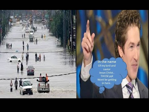 Joel Osteen Wont Help Hurricane Harvey Victims Unless All Shelters Are At Compacity