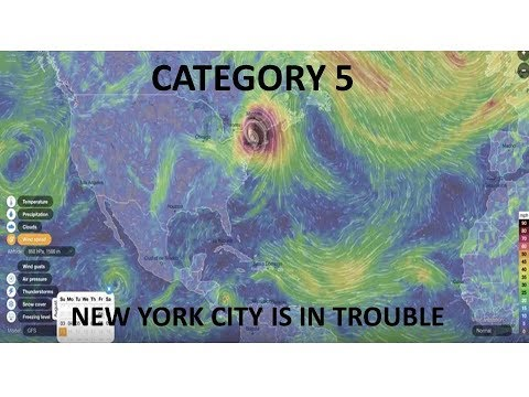 Hurricane Irma CAT 5 Heading To NYC, HARRP, Fema Camps, Depopulation Control & More