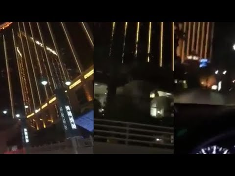 Video: Gun Fire in multiple Locations at Las Vegas Shooting?