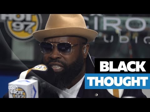 BLACK THOUGHT Drops A Dope Freestyle On Flex