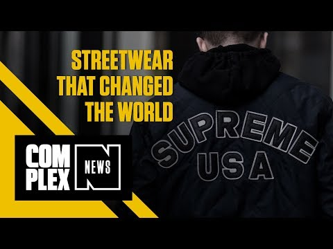 Streetwear That Changed the World : Supreme, Champion & adidas