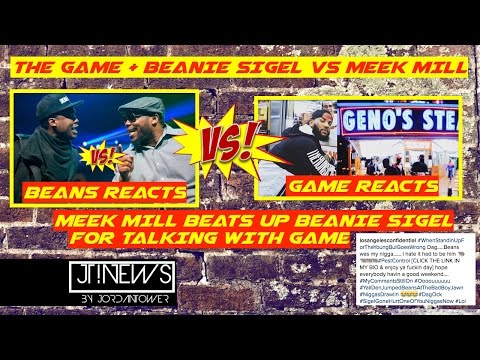 Meek Mill FIGHTS Beanie Sigel : The Game and Beanie Sigel Respond