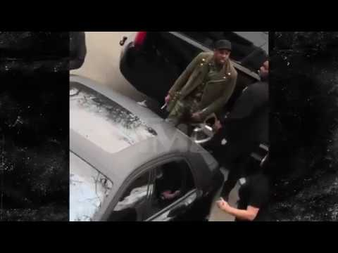 Footage Of Fabolous Threatening, Raging at Emily B and Her Father