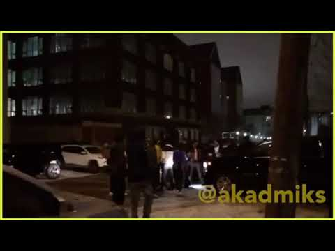 Tekashi 6ix9ine gets pressed by minnesota goons and shots go off !