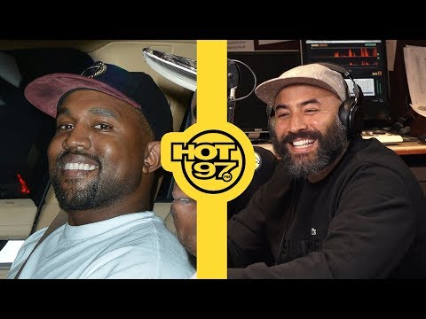 Bromance : Kanye West Calls Into Ebro In The Morning; Tells Ebro 'I Love You'