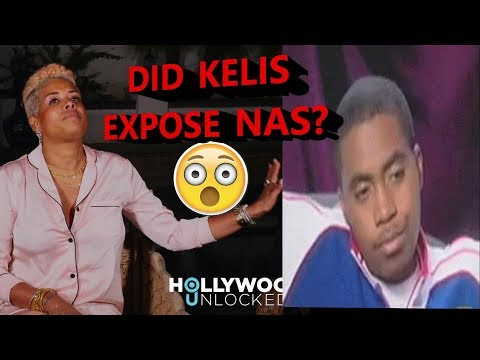 Kelis Says Nas Is A Dead Beat, A Narcissist, A Drunk, & Beats On Her..Wow..What Are Your Thoughts?