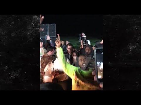 Kanye West Raps About Suicide, Murder, Kim Kardashian At Wyoming Album Launch