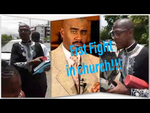 Mr Vegas & pastor Gino Jennings got into a Fist  fight &  thrown out of the church!