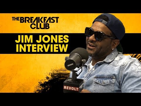 Interview : Jim Jones Talks Entrepreneurship, Dipset, 50 Cent + More
