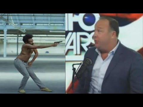 "Alex Jones Says Donald Glover Was Doing VooDoo In His ""This Is America """