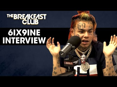 Tekashi 6ix9ine Gives The Breakfast Club's Biggest Interview Ever !!(Makes C THA GOD Donkey Of Day)